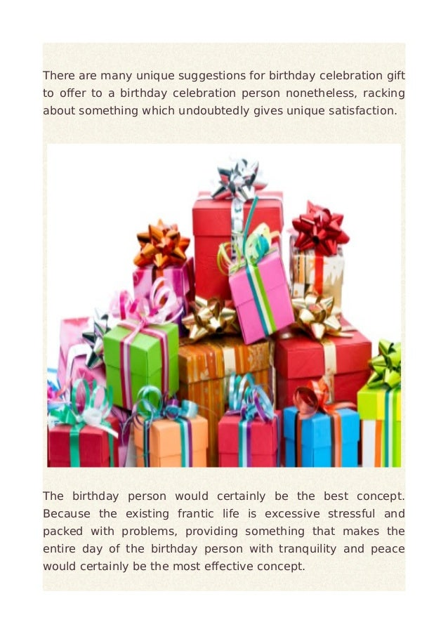 Think of personalized birthday present idea Slide 3