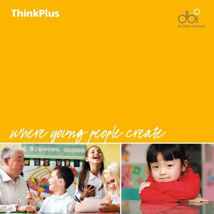 ThinkPluswhere young people create