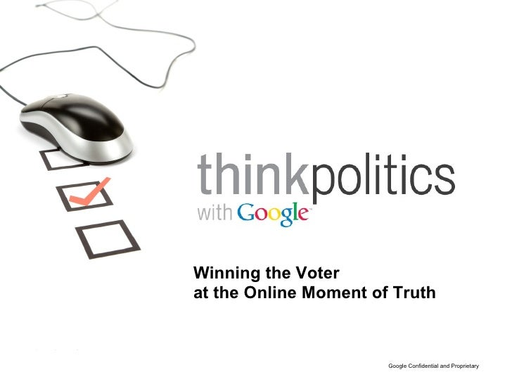 Winning the Voter at the Online Moment of Truth