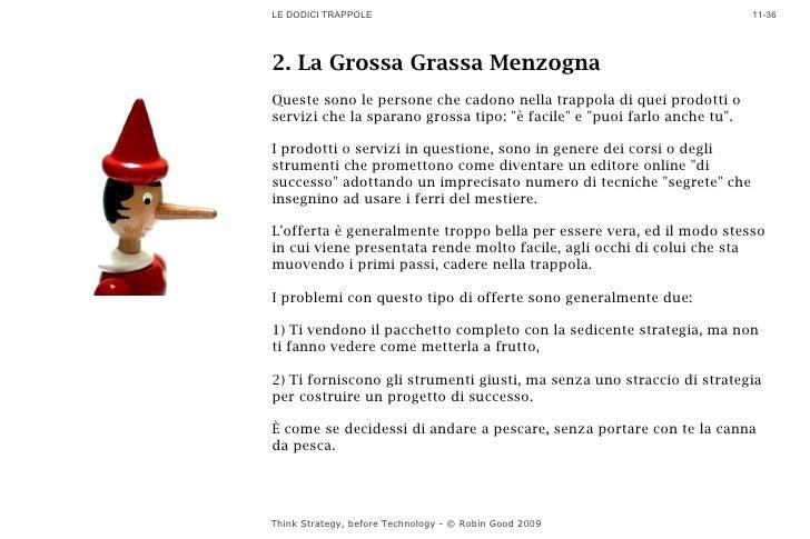 LE DODICI TRAPPOLE                                                        11-36     2. La Grossa Grassa Menzogna Queste so...