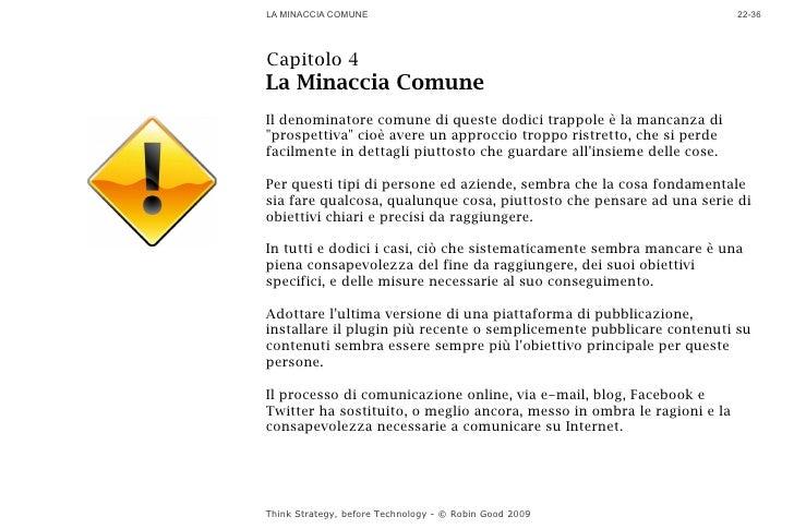 LA MINACCIA COMUNE                                                       22-36     Capitolo 4 La Minaccia Comune Il denomi...