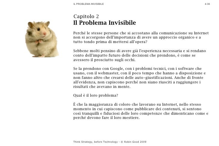 IL PROBLEMA INVISIBILE                                                4-36     Capitolo 2 Il Problema Invisibile Perché le...