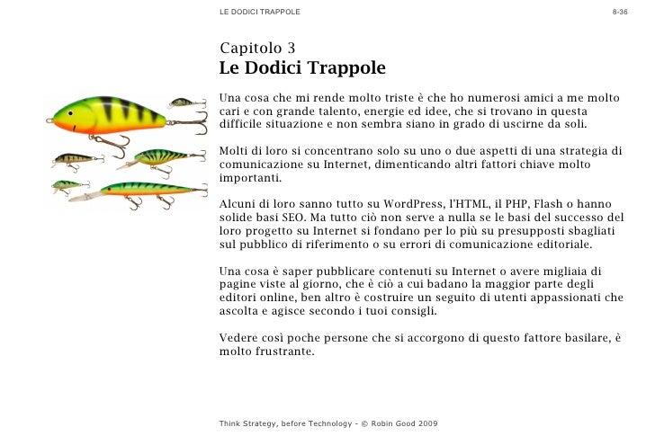 LE DODICI TRAPPOLE                                                      8-36     Capitolo 3 Le Dodici Trappole Una cosa ch...