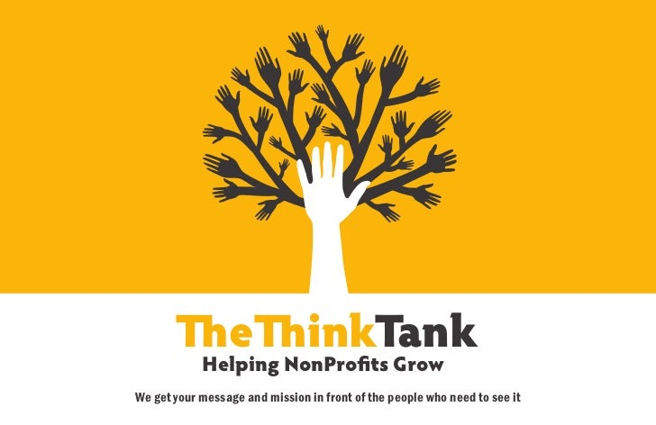 e              inkTank            Helping NonPro ts GrowWe get your message and mission in front of the people who need to...