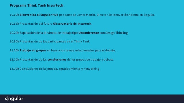 Think Tank Insurtech Slide 3