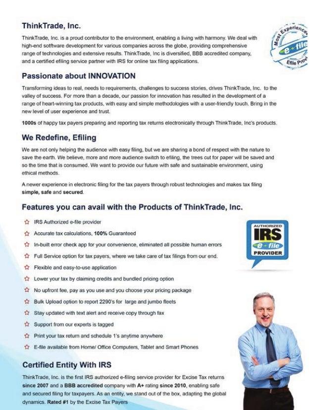 ThinkTrade Inc. Corporate Information Slide 2