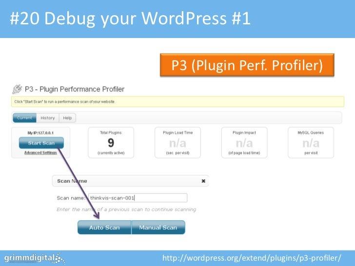 WordPress Optimization & Security - ThinkVisibility 2012, Leeds slideshare - 웹
