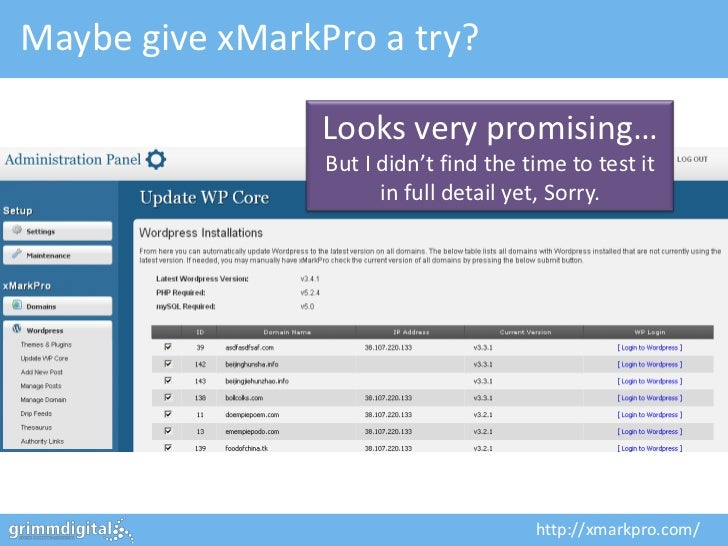 Maybe give xMarkPro a try?                 Looks very promising…                 But I didn't find the time to test it    ...
