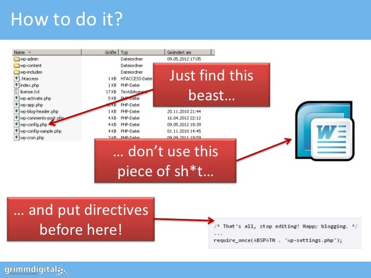 How to do it?                       Just find this                          beast…              … don't use this          ...