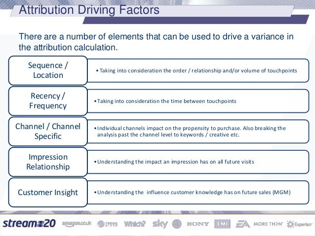Digital Attribution - models and how to talk about