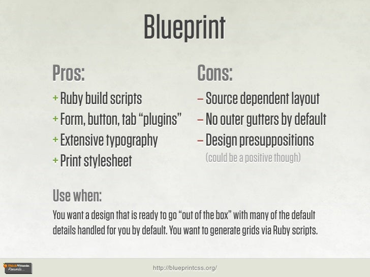 Blueprint pros cons ruby malvernweather