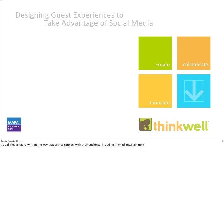 DesigningGuestExperiencesto                         TakeAdvantageofSocialMedia                                     ...