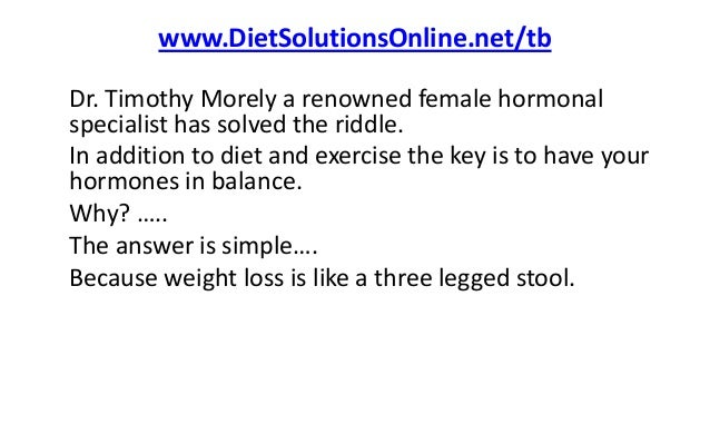 how to balance hormones to lose weight