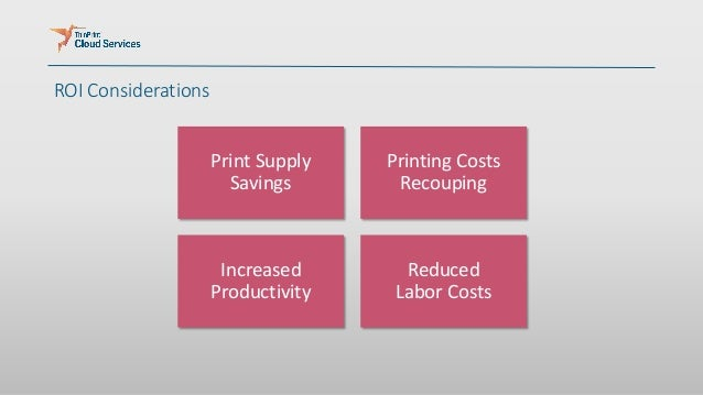 Reducing Printing Costs for Managed and Unmanaged Users