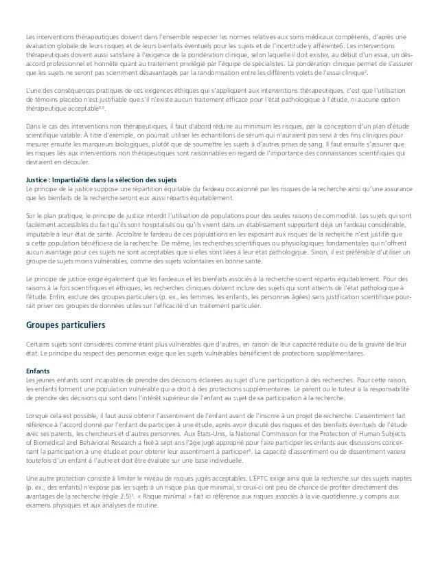 Éthique de la recherche du collège Royal Slide 2