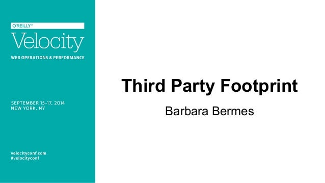Third Party Footprint  Barbara Bermes