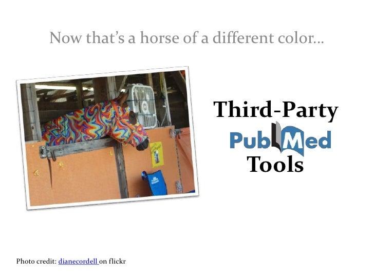 Third-Party Tools<br />Alison Aldrich, NN/LM PNR<br />
