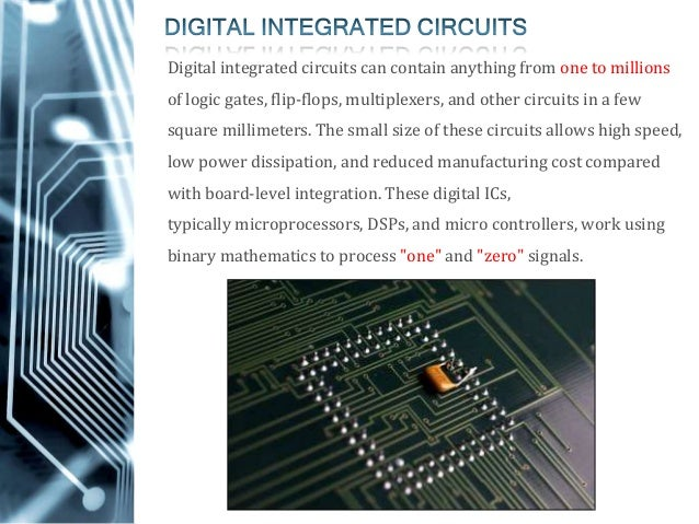 third generation integrated circuits