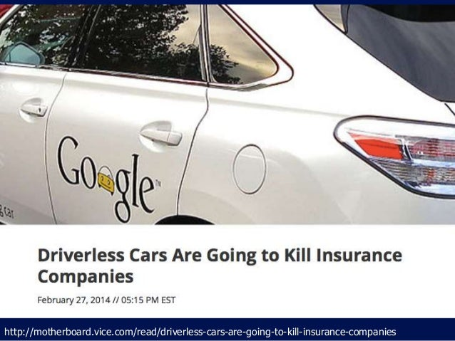 Insurance Information Institute Driverless Cars