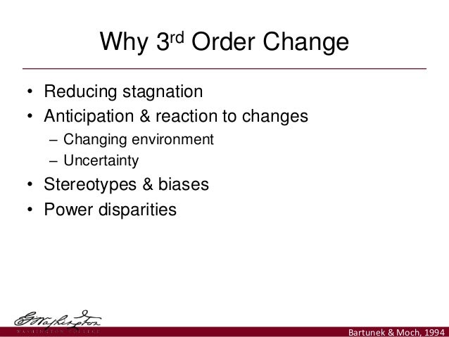 Third-Order Change As a Systems Theory for Community Psychology Slide 3