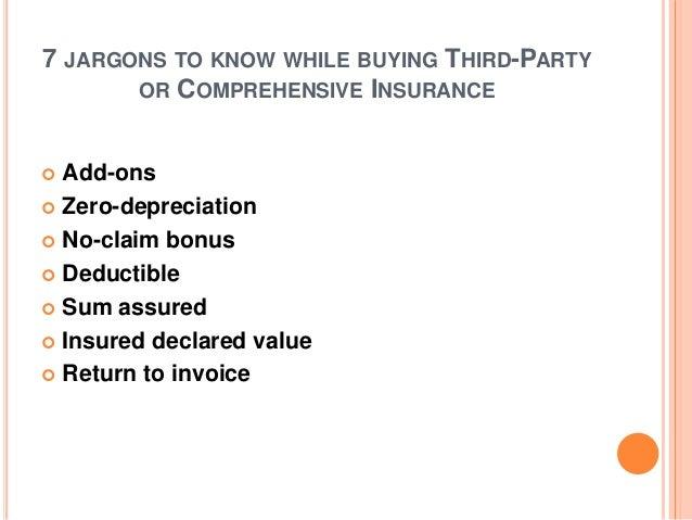 Insurance Zero Depreciation