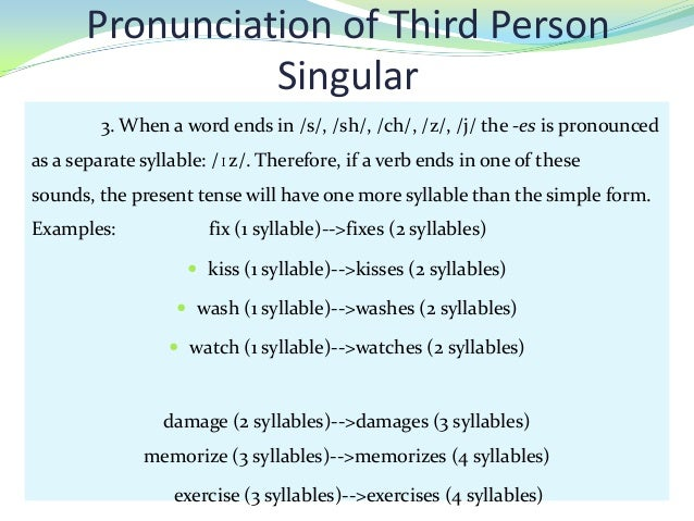 is you a third person word