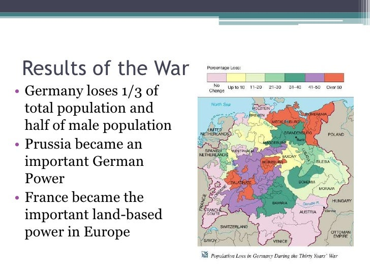 Thirty Years War - Map germany thirty years war
