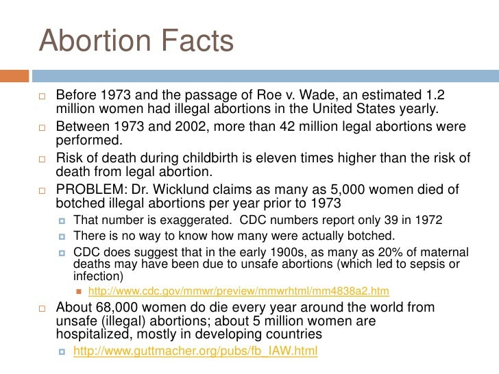 informative speech abortion