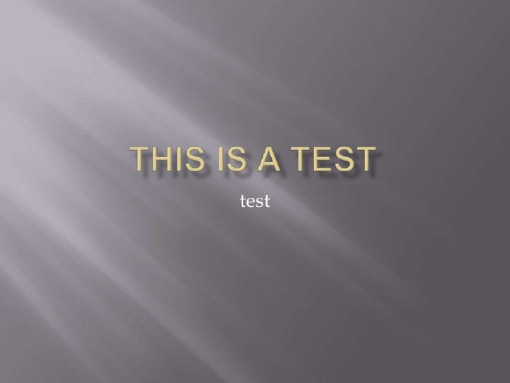 Thisis a test<br />test<br />