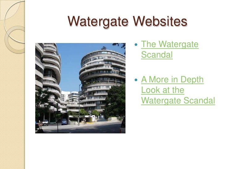 watergate scandal essay summary Richard nixon, political scandal, corruption - the watergate scandal.