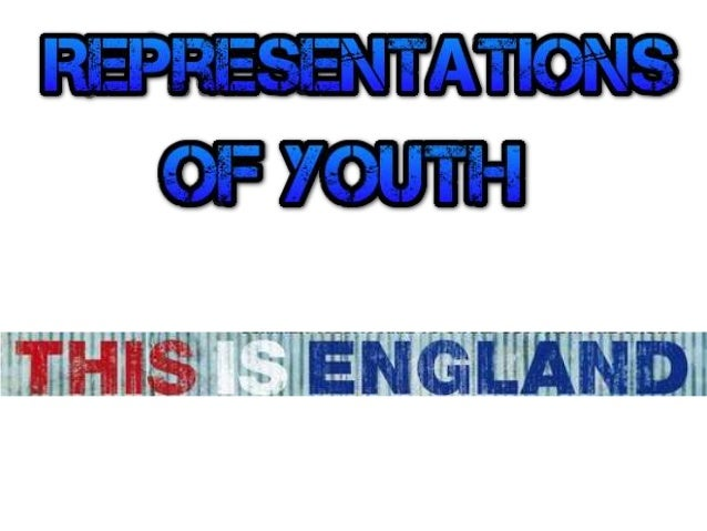 Representations of youth / sub culture:  The idea of working class Britain is immediately introduced through the mise en s...