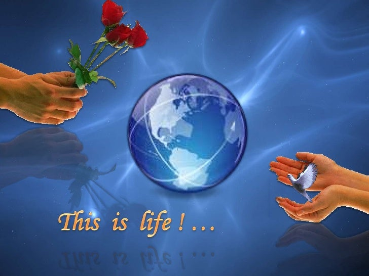 This  is  life ! …<br />