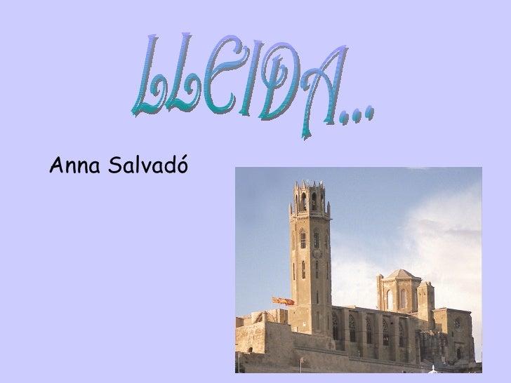Anna Salvadó