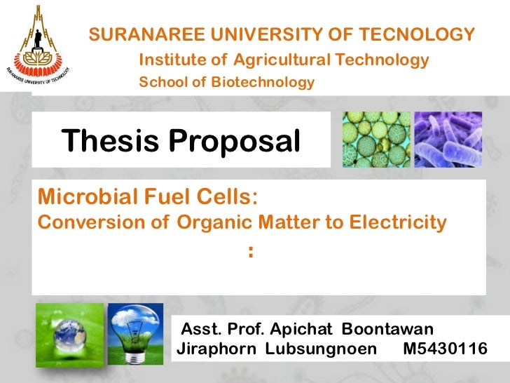 microbial fuel cell dissertation