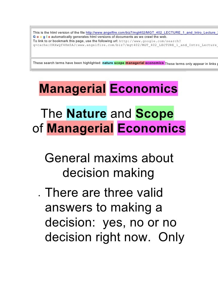 This is the html version of the file http://www.angelfire.com/biz7/mgt402/MGT_402_LECTURE_1_and_Intro_Lecture_2 G o o g l ...