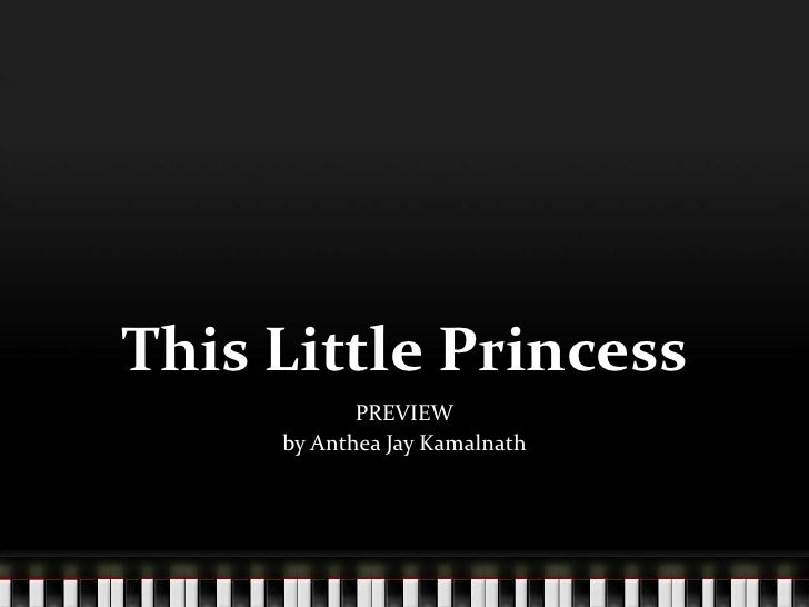 This Little Princess<br />PREVIEW<br />by Anthea Jay Kamalnath<br />