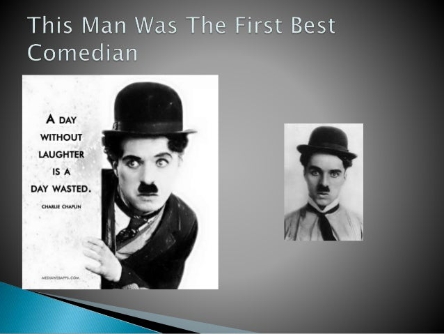This man was the first best comedian