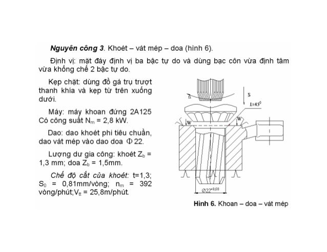 Đồ án công nghệ chế tạo máy - Trần Văn Địch slideshare - 웹