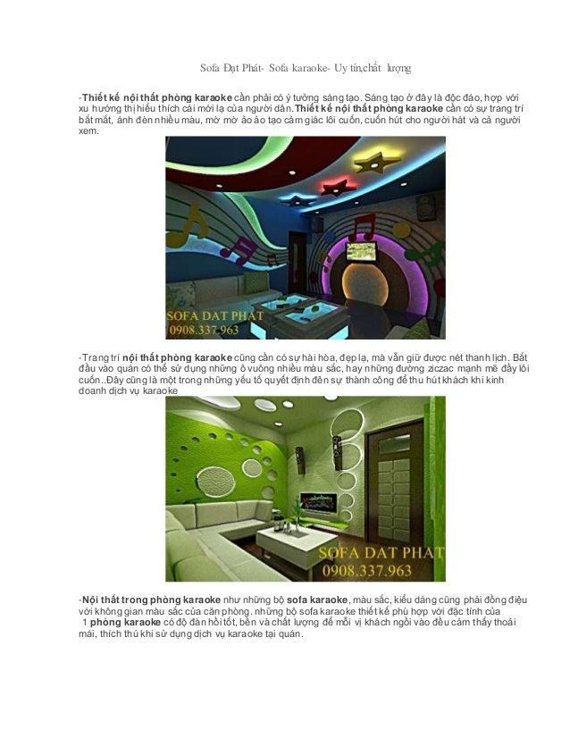 Thiết kế nội thất phòng karaoke Slide 2