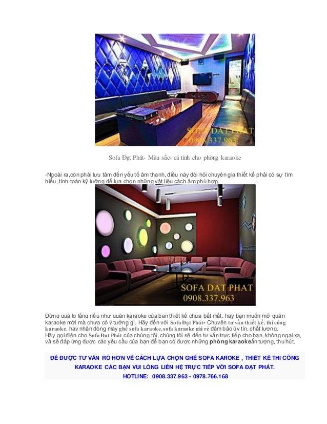 Thiết kế nội thất phòng karaoke Slide 3