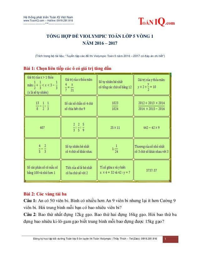 Hệ thống phát triển Toán IQ Việt Nam www.ToanIQ.com – Hotline: 0919.281.916 ----------------------***---------------------...