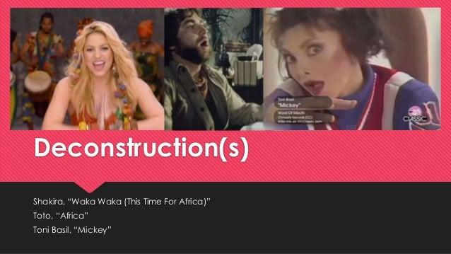 Music Video Deconstruction Themed