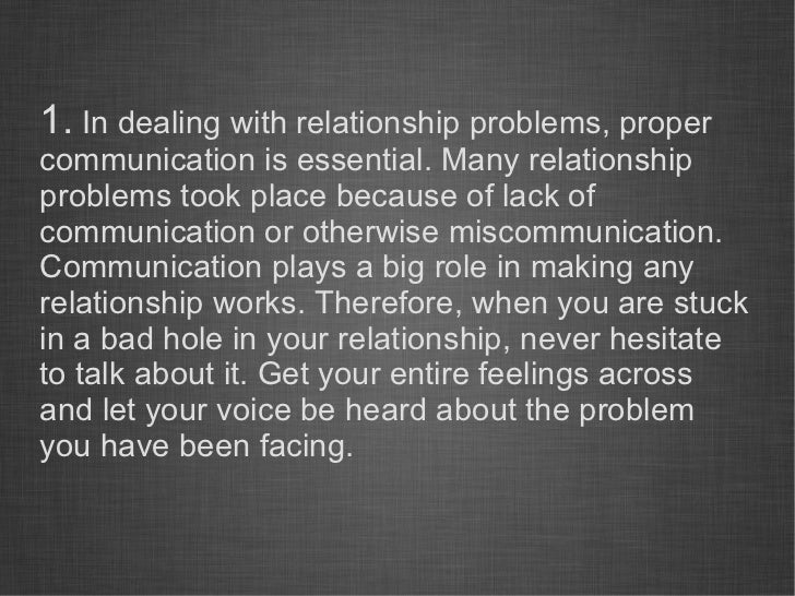 How To Fix Lack Of Communication In A Relationship