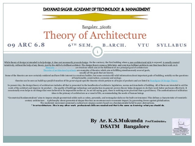 Architecture Design Theory theory-of-architecture-1-638?cb=1462264188