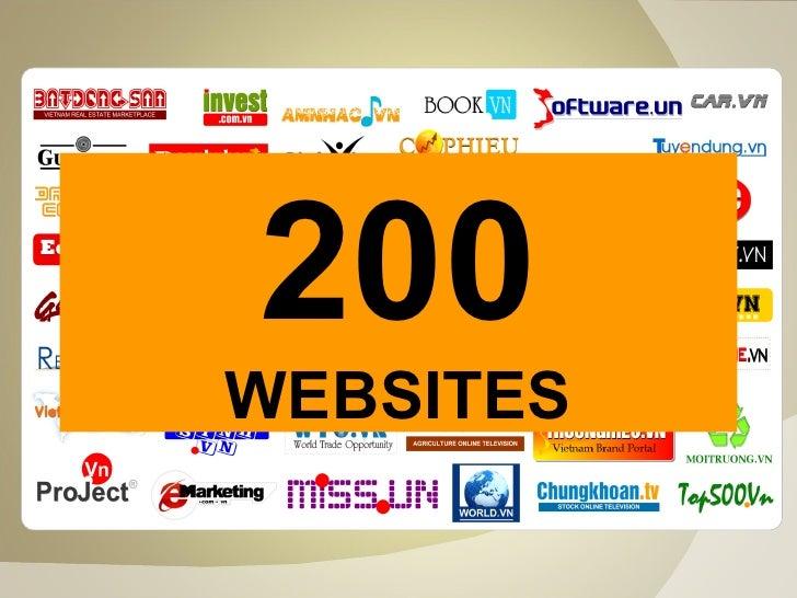 200 WEBSITES