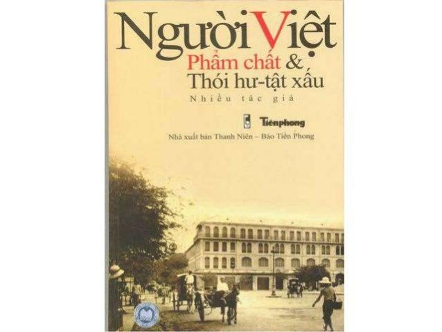 Người Việt phẩm chất, thói hư, tật xấu