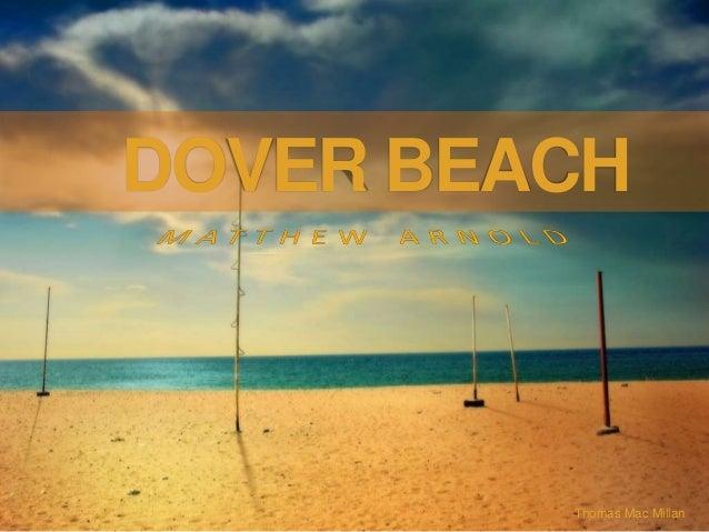 Thomas Mac Millan DOVER BEACH