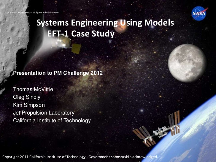 National Aeronautics and Space Administration                          Systems Engineering Using Models                   ...