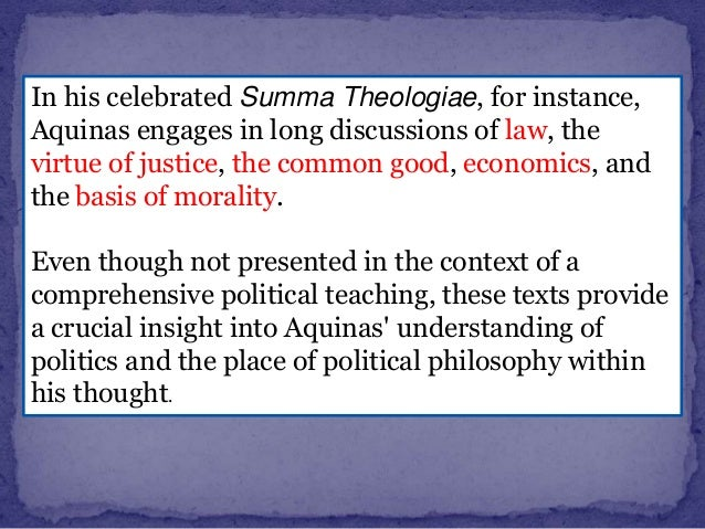 the marriage of faith and reason in the political philosophy of aquinas Ly socrates, aristotle, aquinas, or tocqueville meant by this or that passage,  while using his  nals and books on the difficulties of faith and reason, the  oddities of political  ment, schall's books just since 2012 include political  philosophy and revelation: a  susan selner-wright, married to terrence,  concludes our issue.