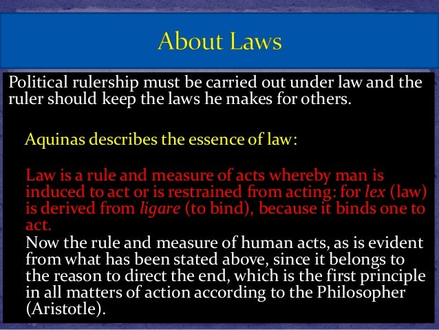 the natural law by thomas aquinas essay Essay editing 24h turnaround  natural law: thomas aquinas a quick summary february 6, 2012 in law articles 531  natural law after aquinas.